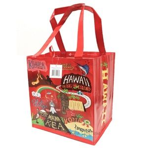Handbags - New~ Hawaii Island Reusable Tote Bag